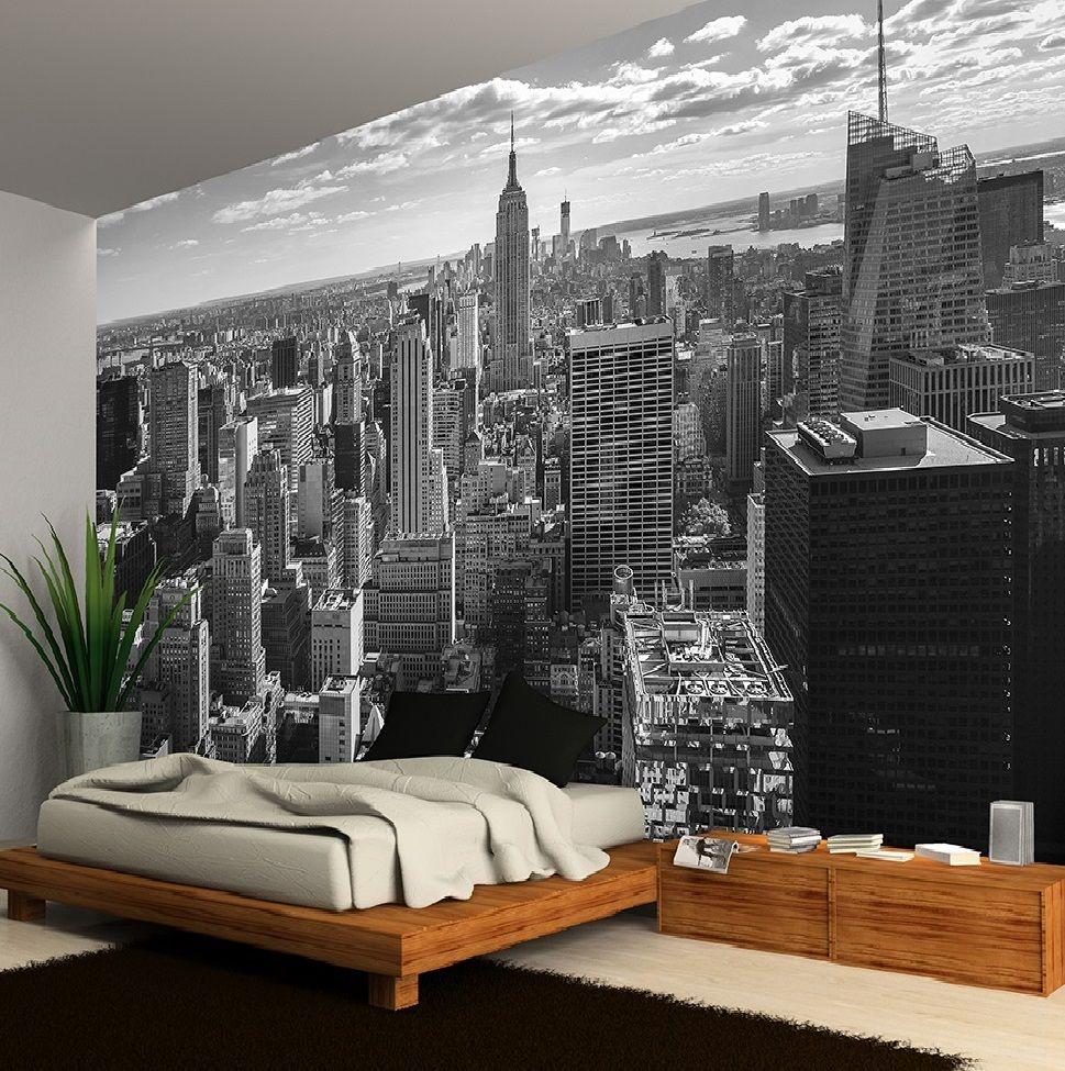 Free Download New York Skyline Manhattan Night Empire State