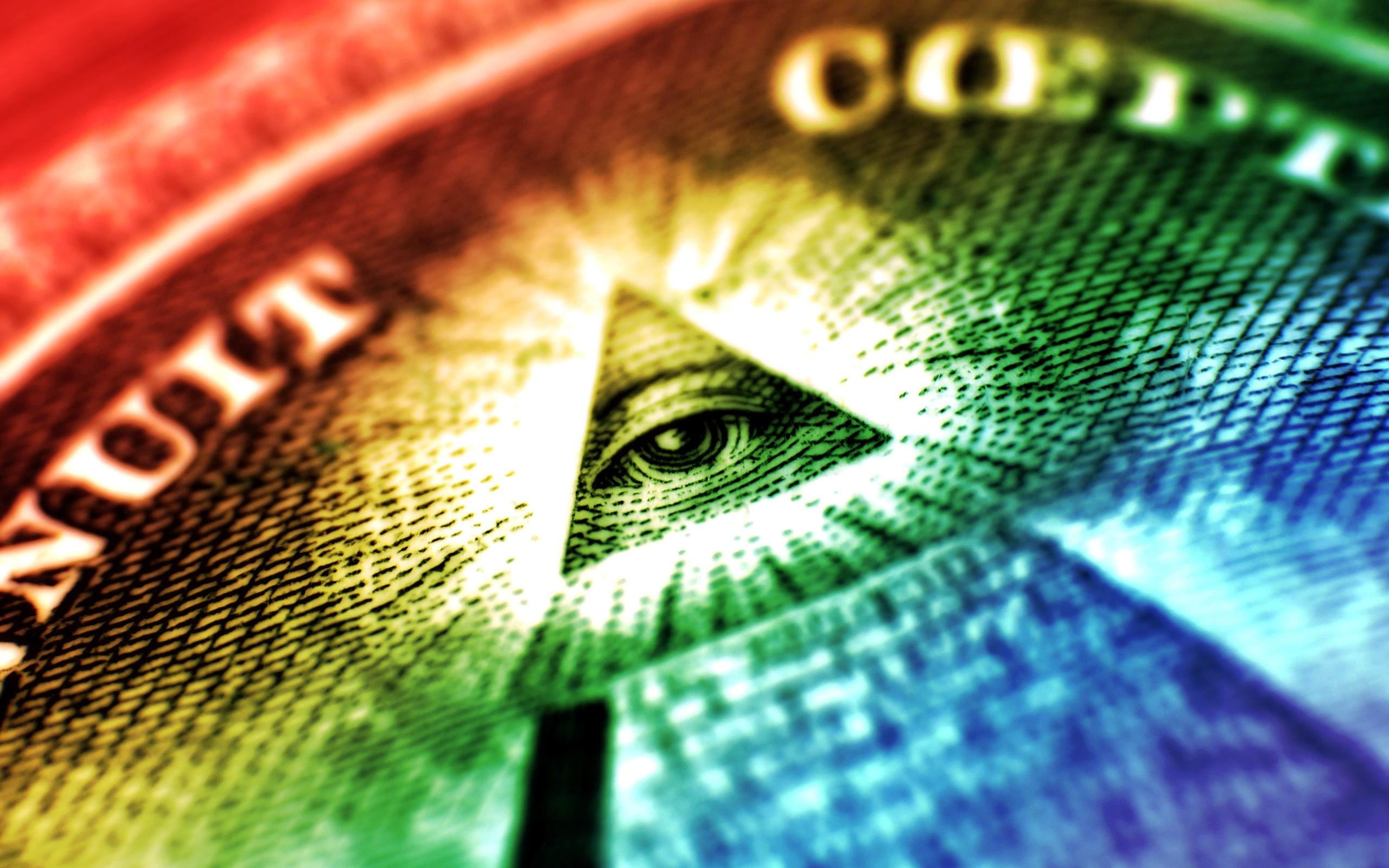 Eye of Providence Illuminati colorful HD wallpaper Wallpaper Flare 2560x1600