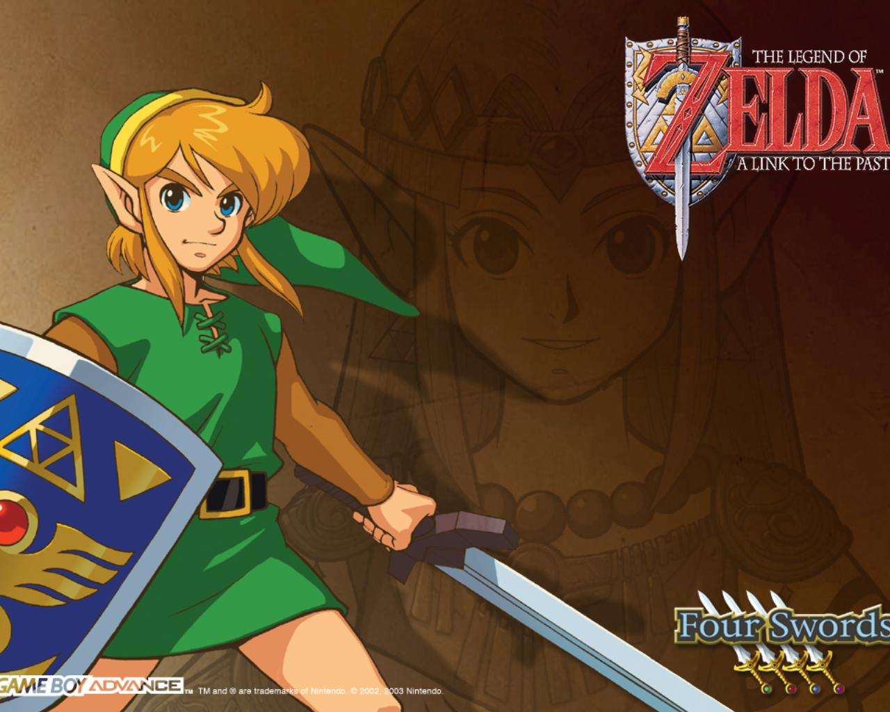 Zelda a Link to the Past   Official Wallpapers Desktops Backgrounds 1280x1024