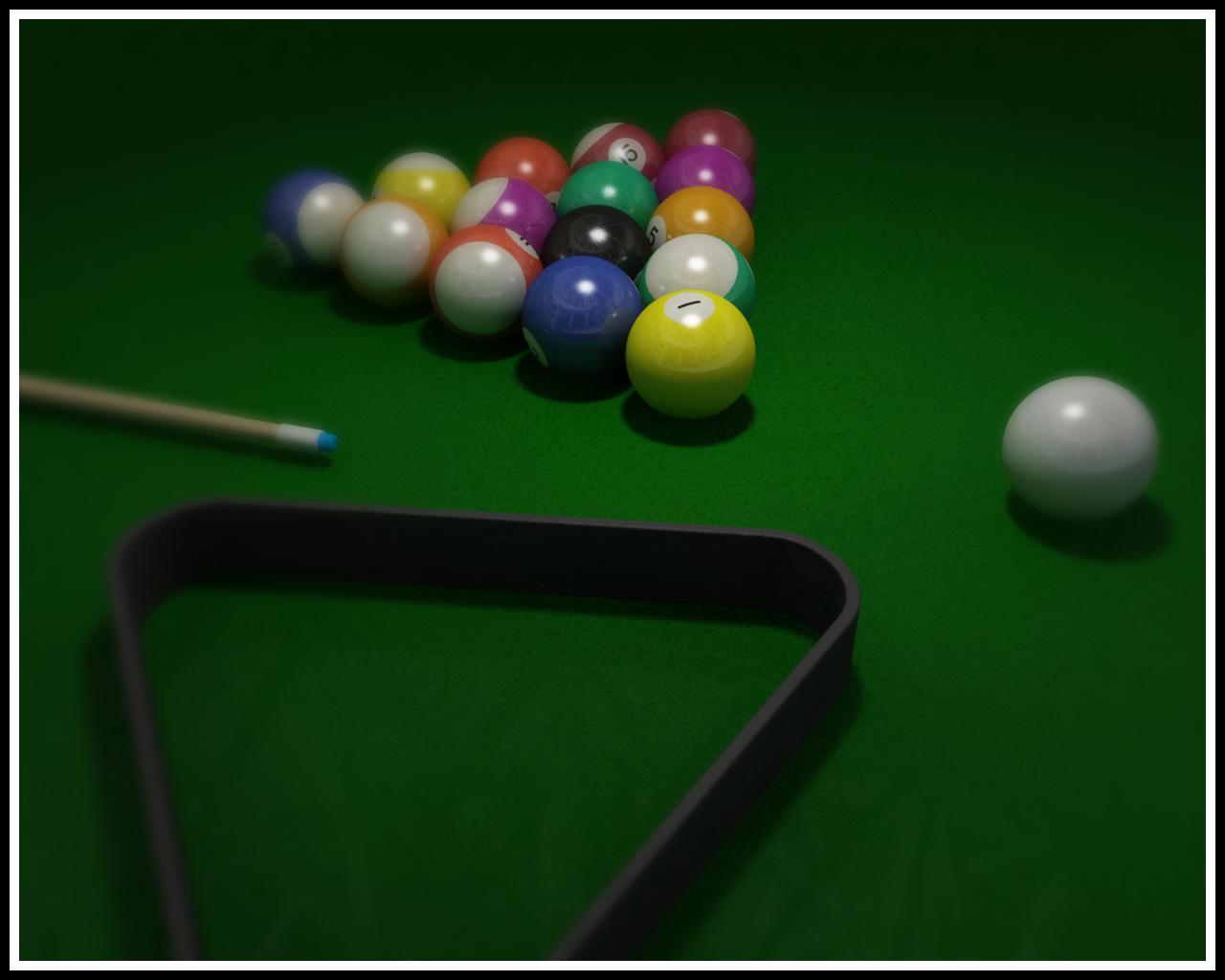 Billiards Wallpaper 3 1280x1024