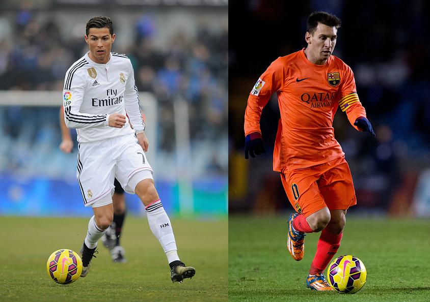 Ronaldo vs Messi 2015 844x594