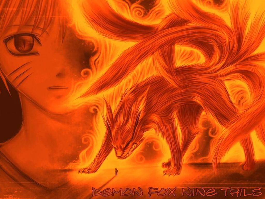 Fox Nine Tails Naruto Desktop Wallpapers Download Wallpaper Full Size 1024x768