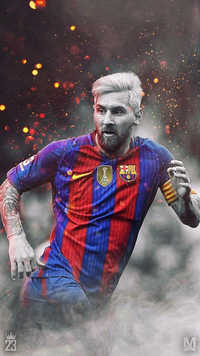 Messi 2017 Wallpapers 670x1191