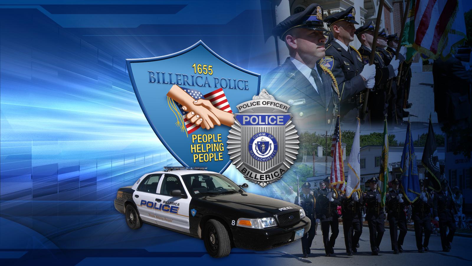 Desktop Wallpaper Billerica Police MA 1600x900