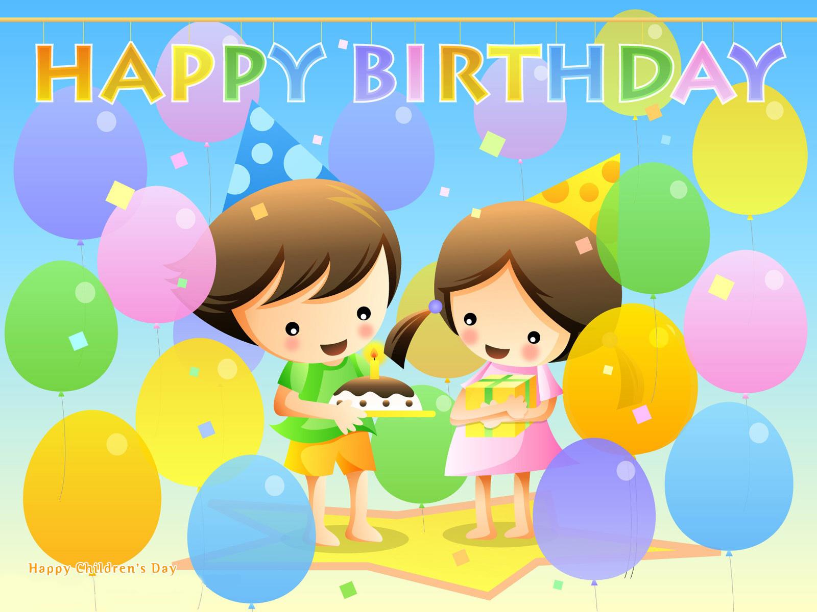 Inspiring Happy Birthday Wallpapers 1600x1200