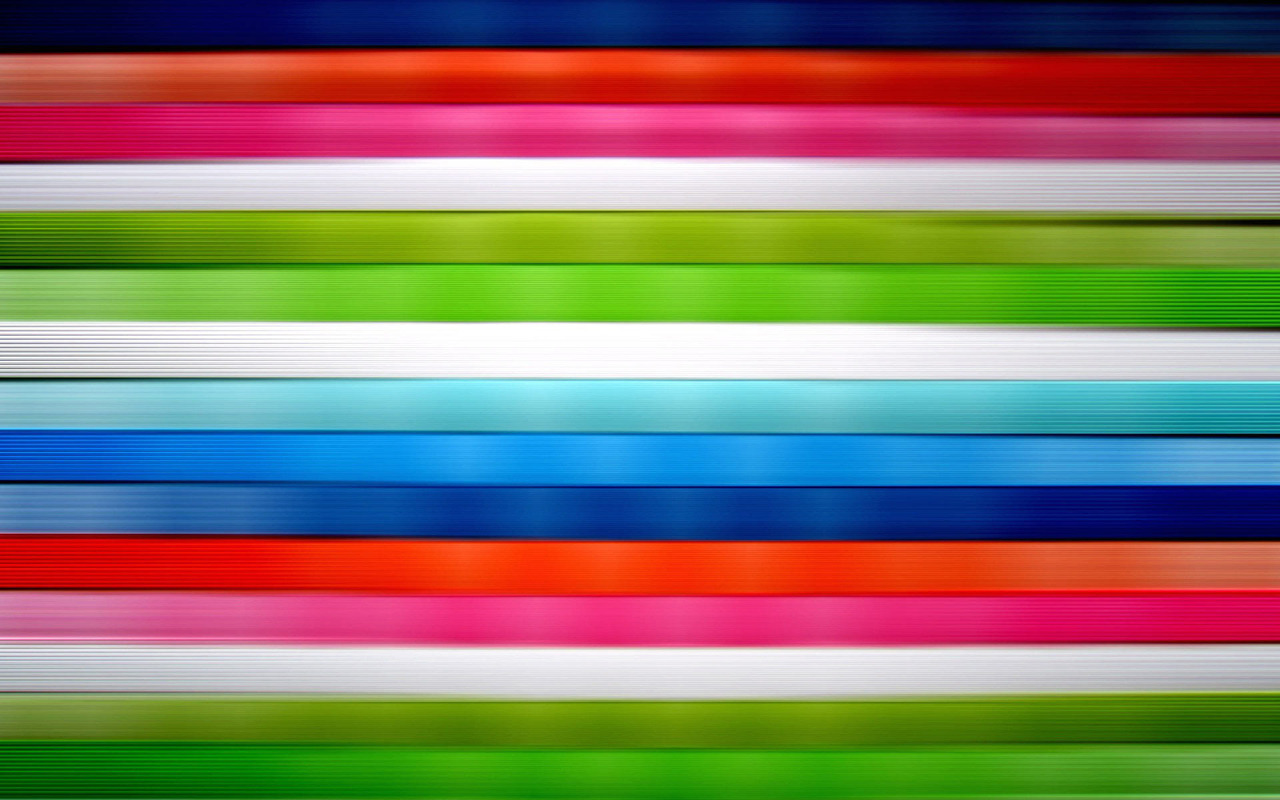 Horizontal vivid colored stripes wallpaper 201 1280x800