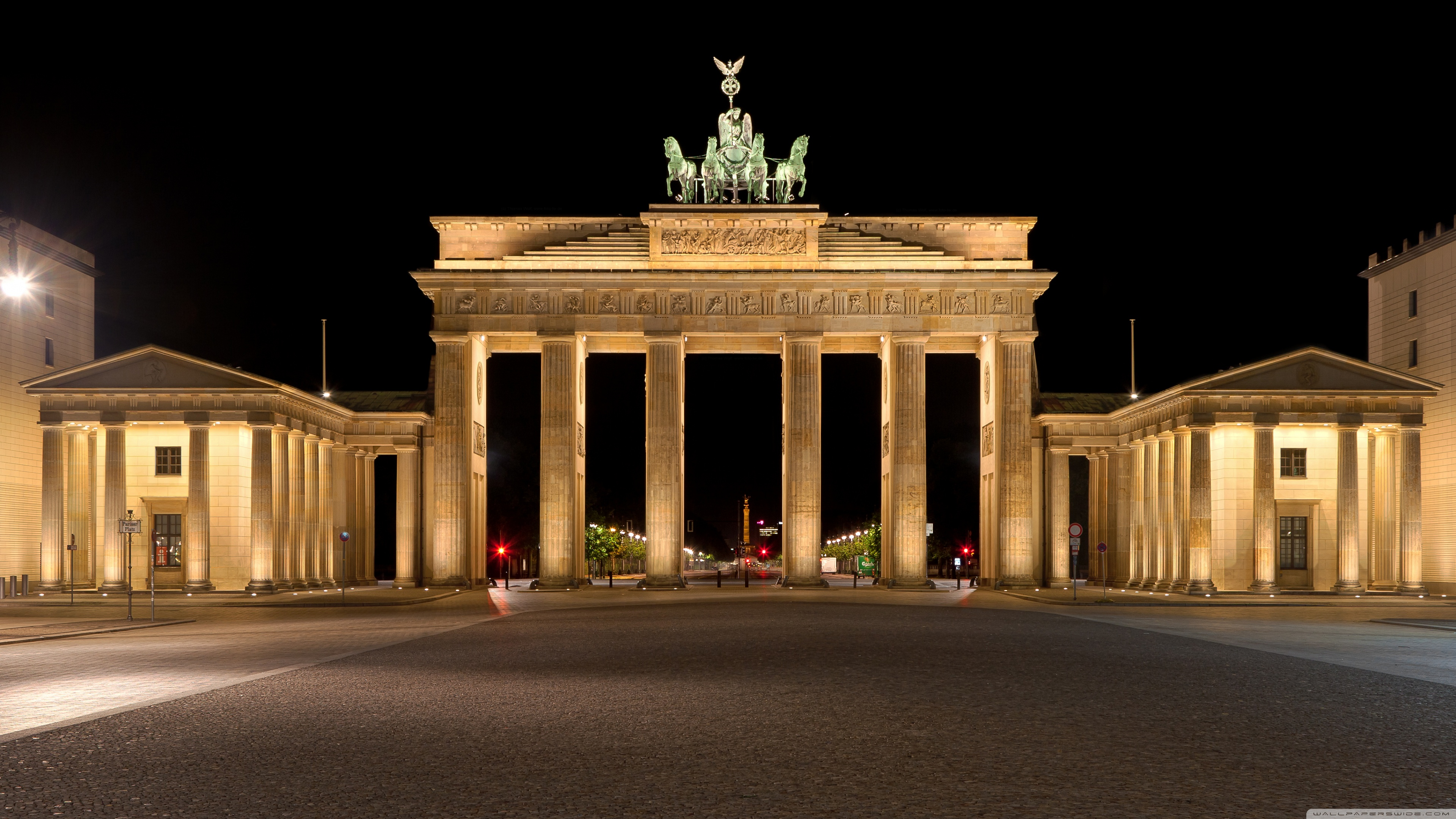 Brandenburg Gate 4K HD Desktop Wallpaper for 4K Ultra HD TV 3840x2160