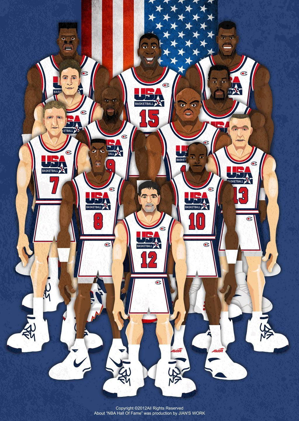 Dream Team Wallpapers 1024x1442