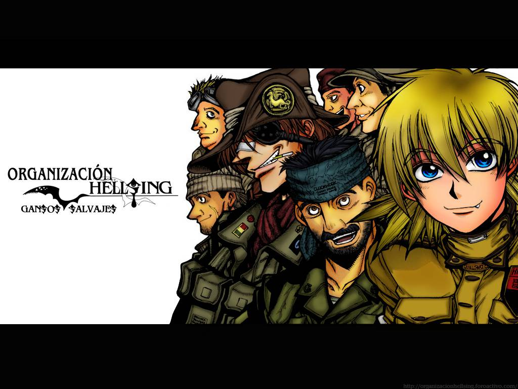 Hellsing Ultimate Seras Victoria The Wild Geese Anime HD Wallpaper 1024x768