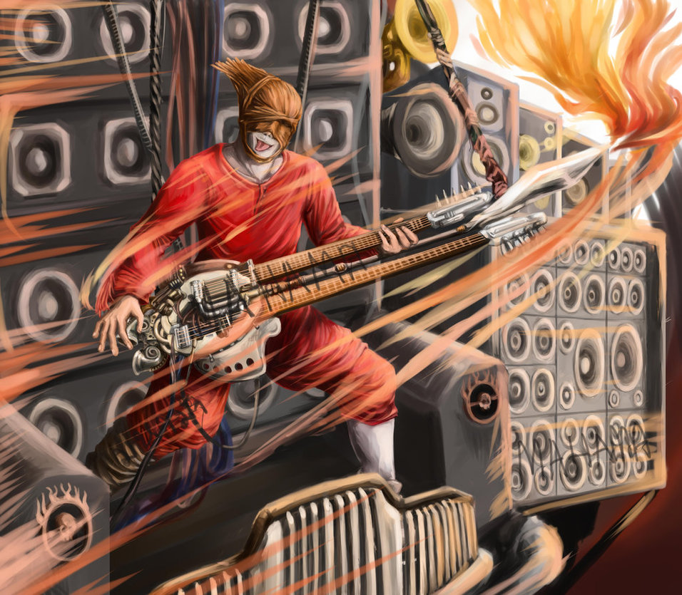 Free Download Mad Max Fury Road Coma The Doof Warrior By Maha Ma