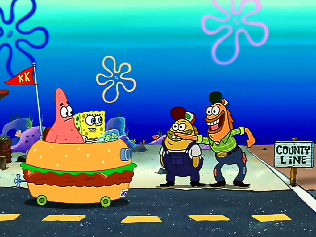 HD SpongeBob Squarepants 010 Wallpaper 3941 Full Size Wallpaper 1024x768