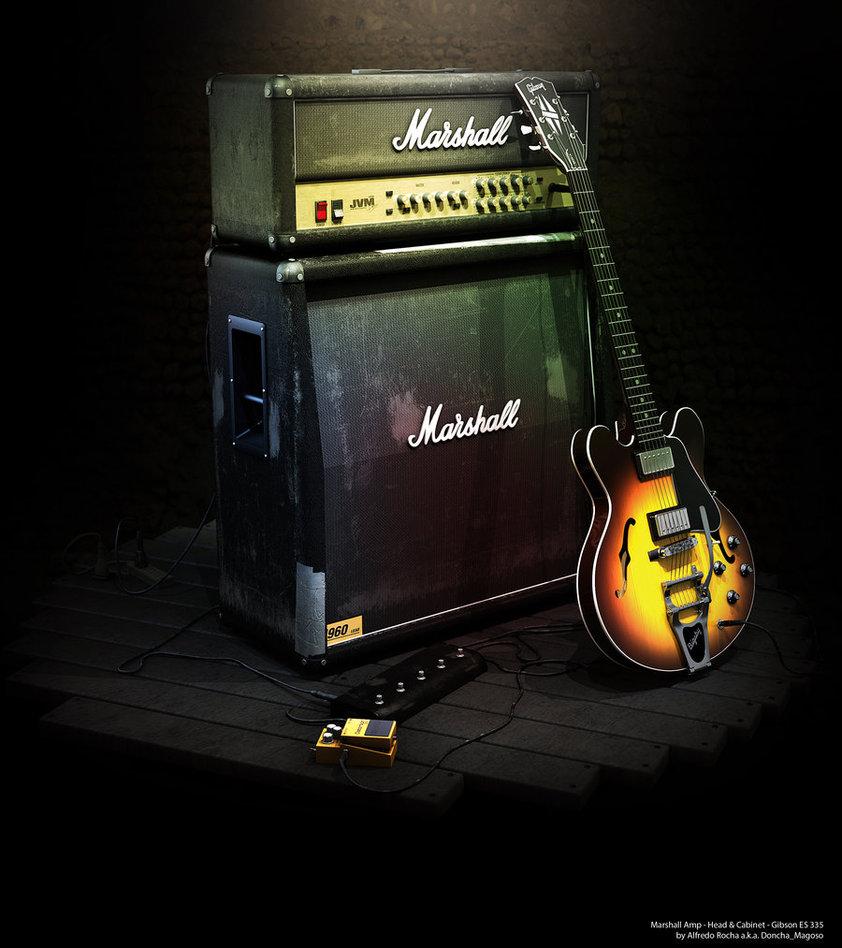 guitar amp wallpaper wallpapersafari. Black Bedroom Furniture Sets. Home Design Ideas