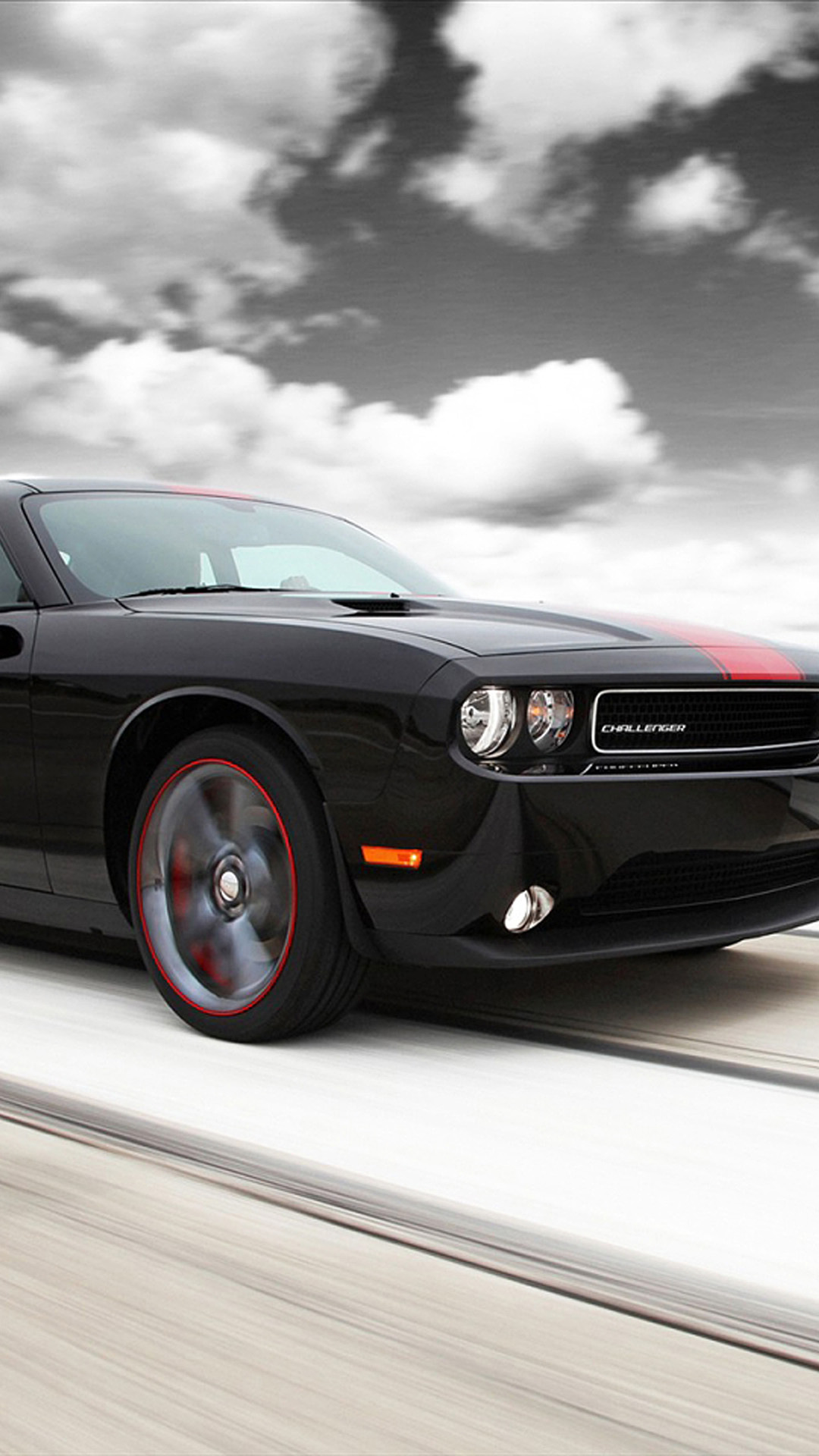 46 Dodge Challenger Iphone Wallpaper On Wallpapersafari