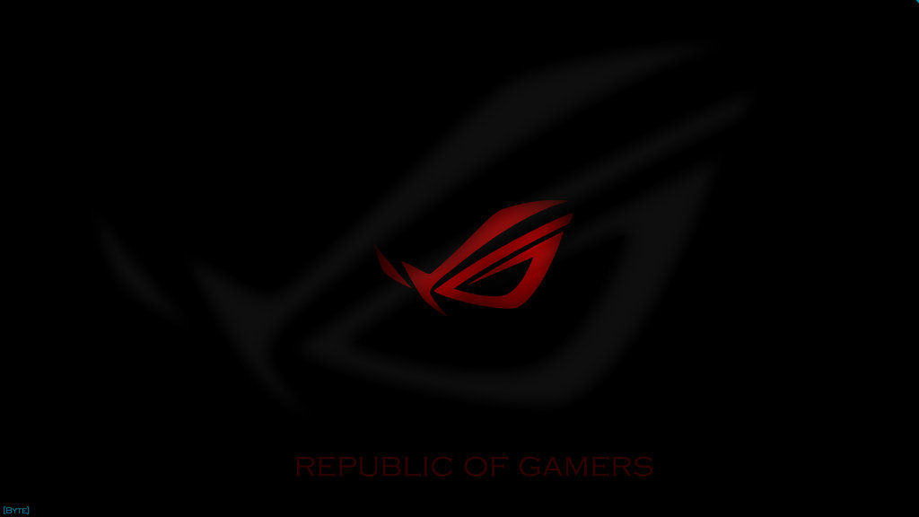 Republic Of Gamers Wallpaper by kicsikebyte 1024x576