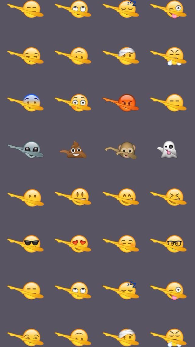25 best ideas about Emoji wallpaper More 640x1136