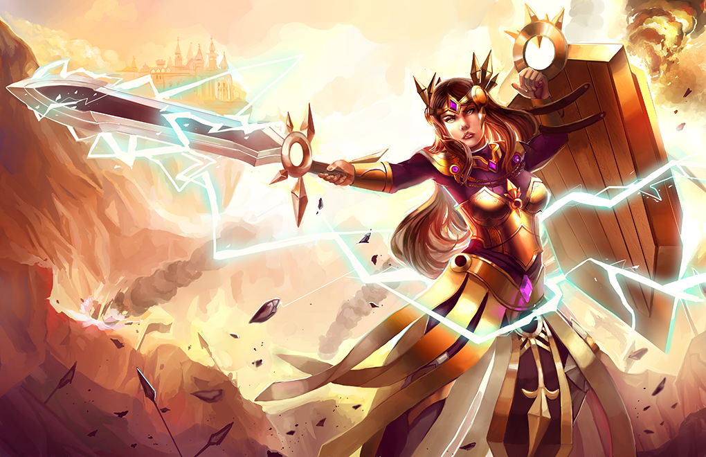 League Of Legends Leona Hot | www.pixshark.com - Images ...