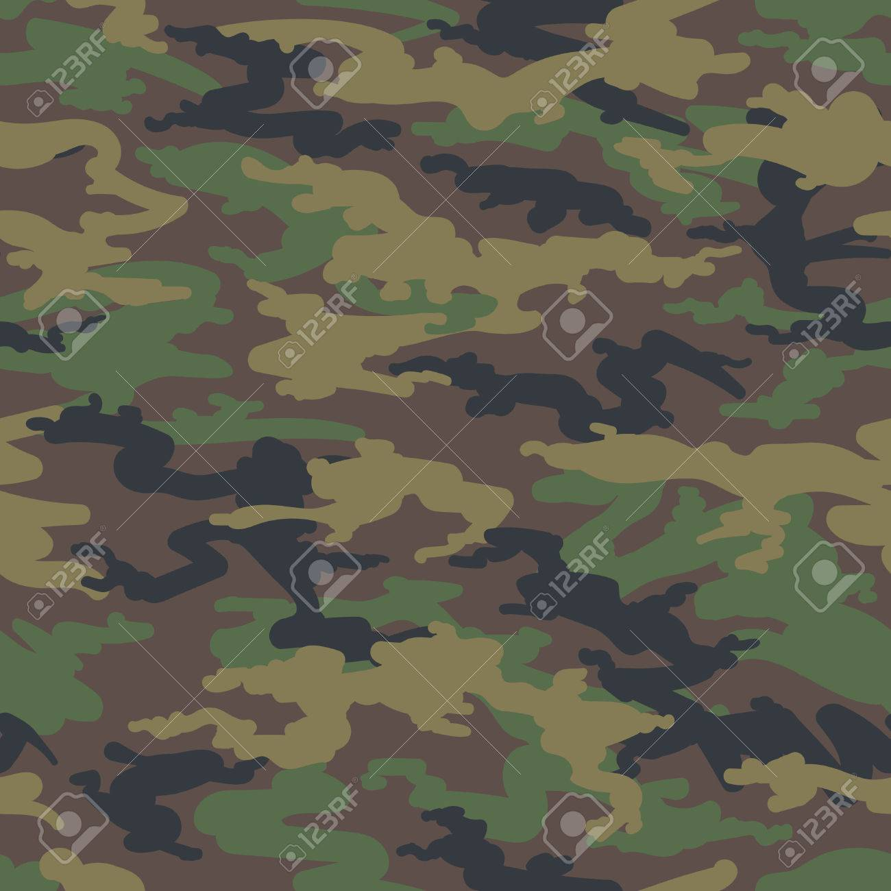 Military Army Camo Background Vector Woodland Hunting Camoflauge 1300x1300