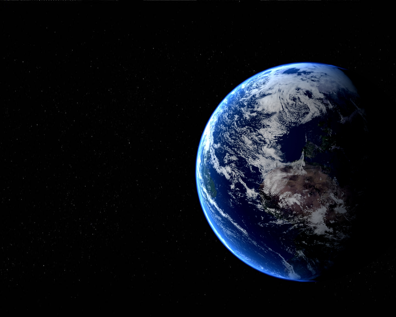New Wallpaper Earth From Space 1280x1024