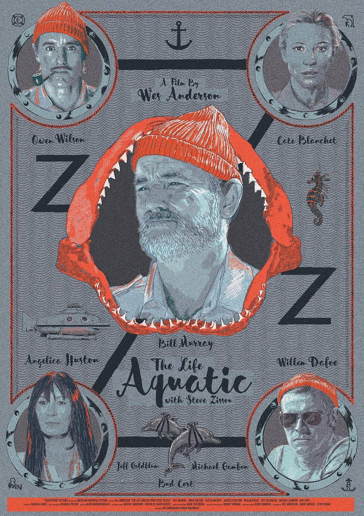 The Life Aquatic with Steve Zissou 2004 HD Wallpaper From 1200x1700