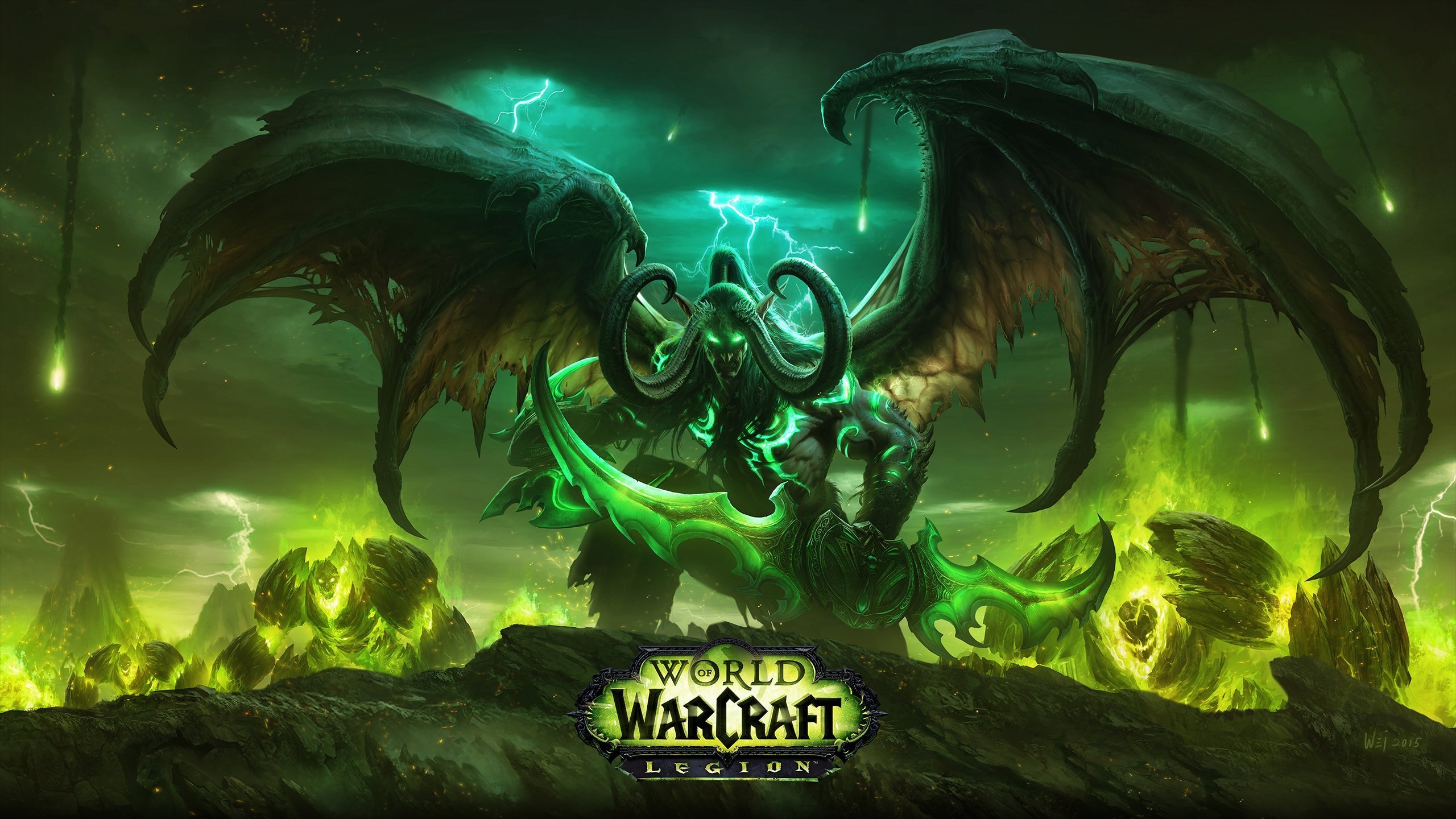 Free Download World Of Warcraft Legion Revealed Brings Demon Hunter Class Much 2560x1440 For Your Desktop Mobile Tablet Explore 49 Demon Hunter Wow Wallpaper Wow Demon Hunter Wallpaper Demon