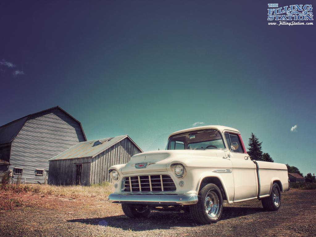 Chevrolet GMC Classic car truck desktop backgrounds 1024x768