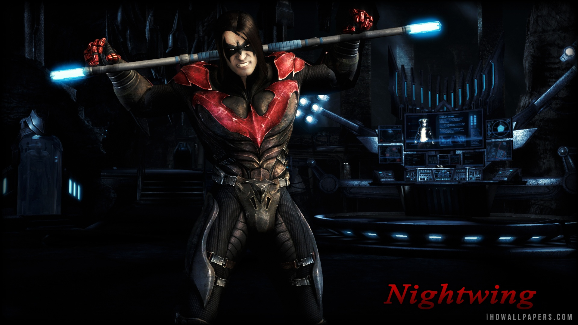 Nightwing HD Wallpaper   iHD Wallpapers 1920x1080