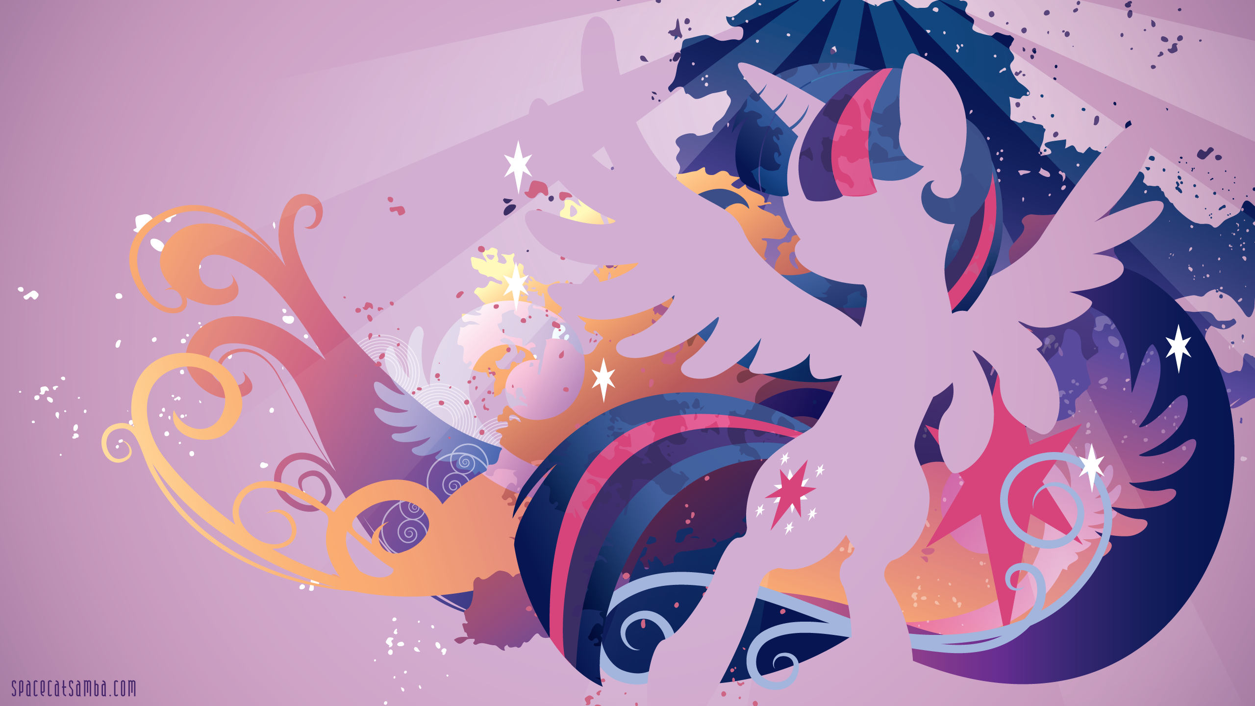 twilight sparkle pony princess friendship wallpapers little 2560x1440 2560x1440