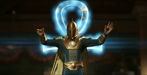 Injustice 2s Dr Fate Brings Some Fancy Magic To The 585x300