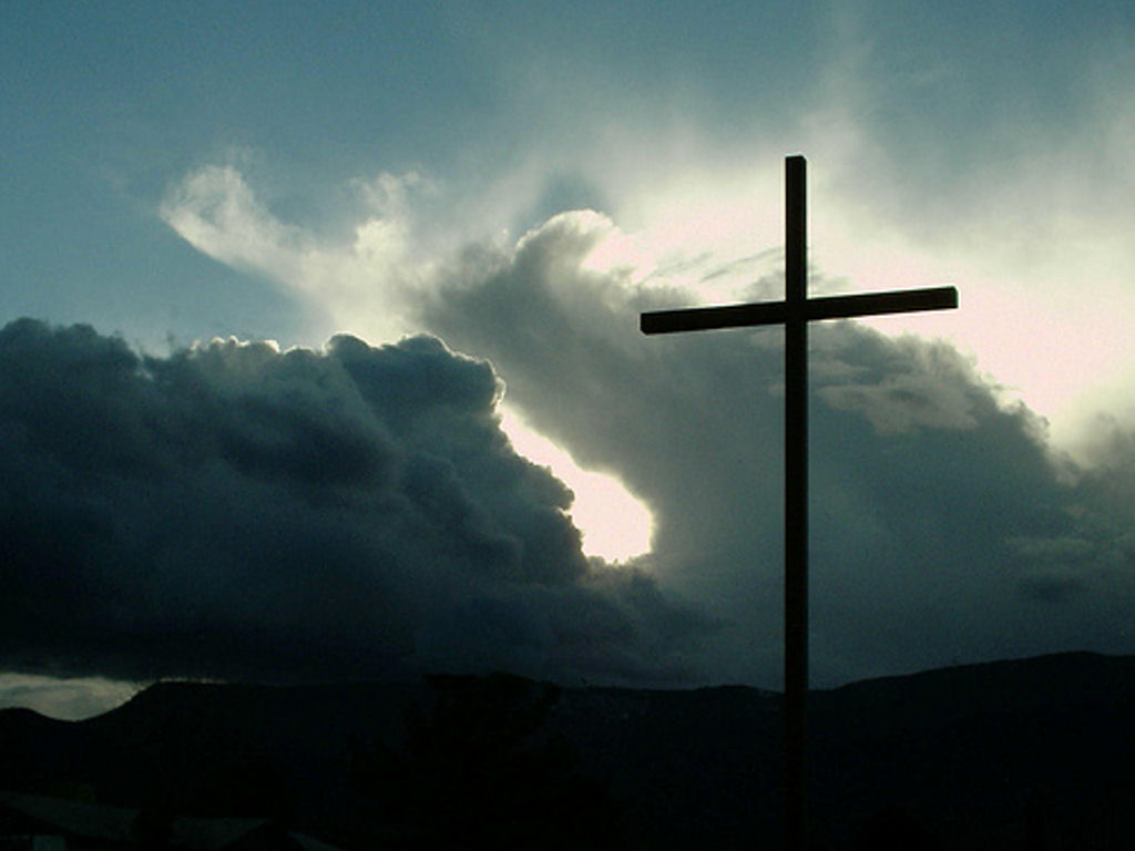 Cross Sky Wallpaper   Christian Wallpapers and Backgrounds 1024x768