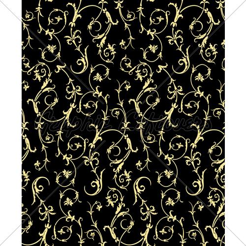 Seamless Renaissance Wallpaper GL Stock Images 500x500