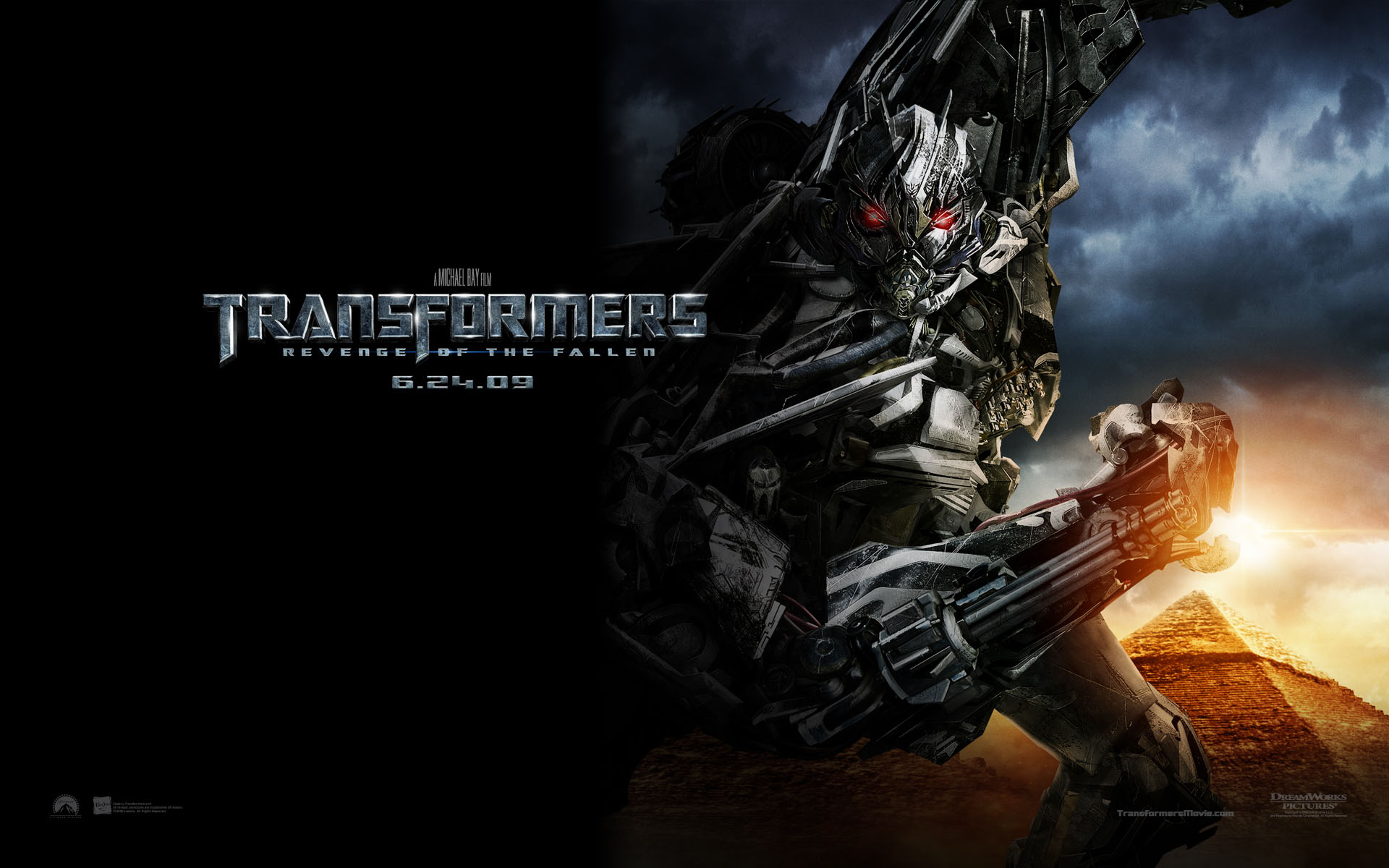 Transformers Revenge of the Fallen Megatron wallpaper   Click 1920x1200