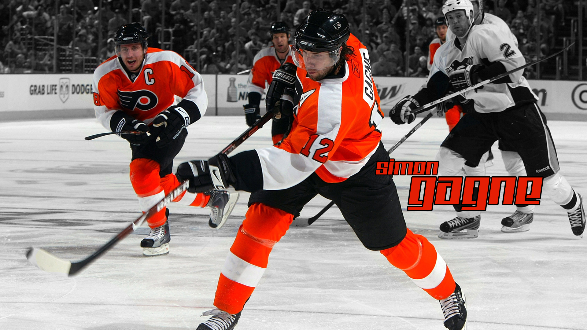 Wallpapers HD wallpapers Simon Gagne Philadelphia Flyers 1920x1080