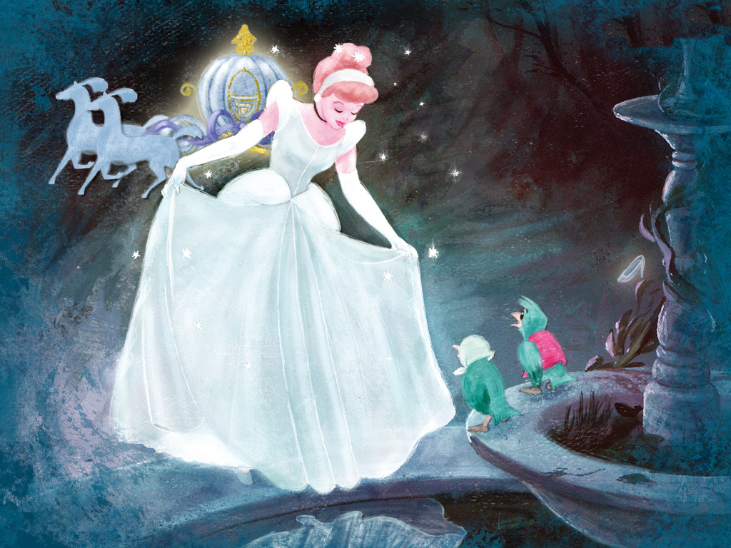78 Disney Cinderella Wallpaper On Wallpapersafari