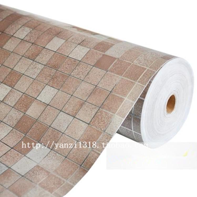 tile wallpaper bathroom walls paper waterproof stickers wallpapers for 750x750