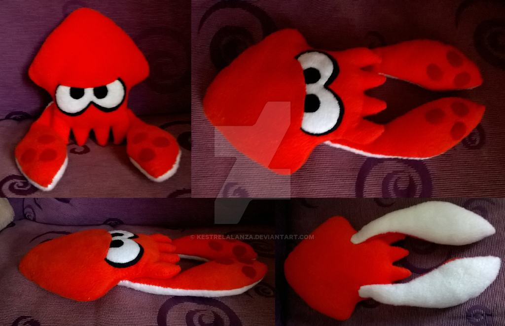 Splatoon Inkling Squid Orange by KestrelAlanza 1024x661