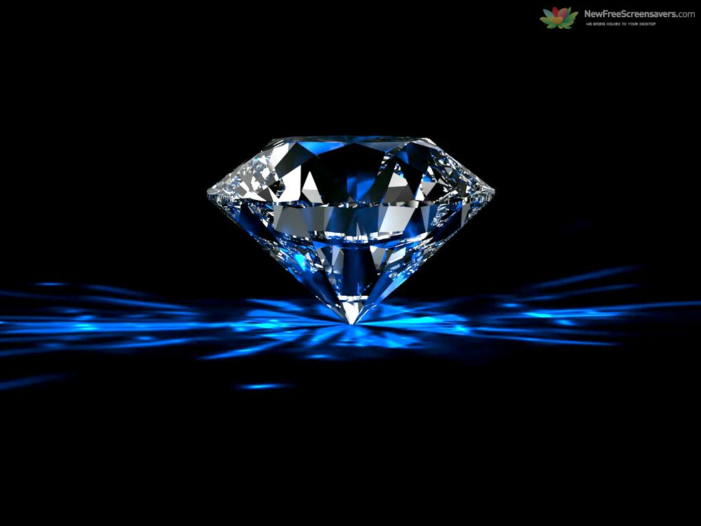 Diamonds supply background