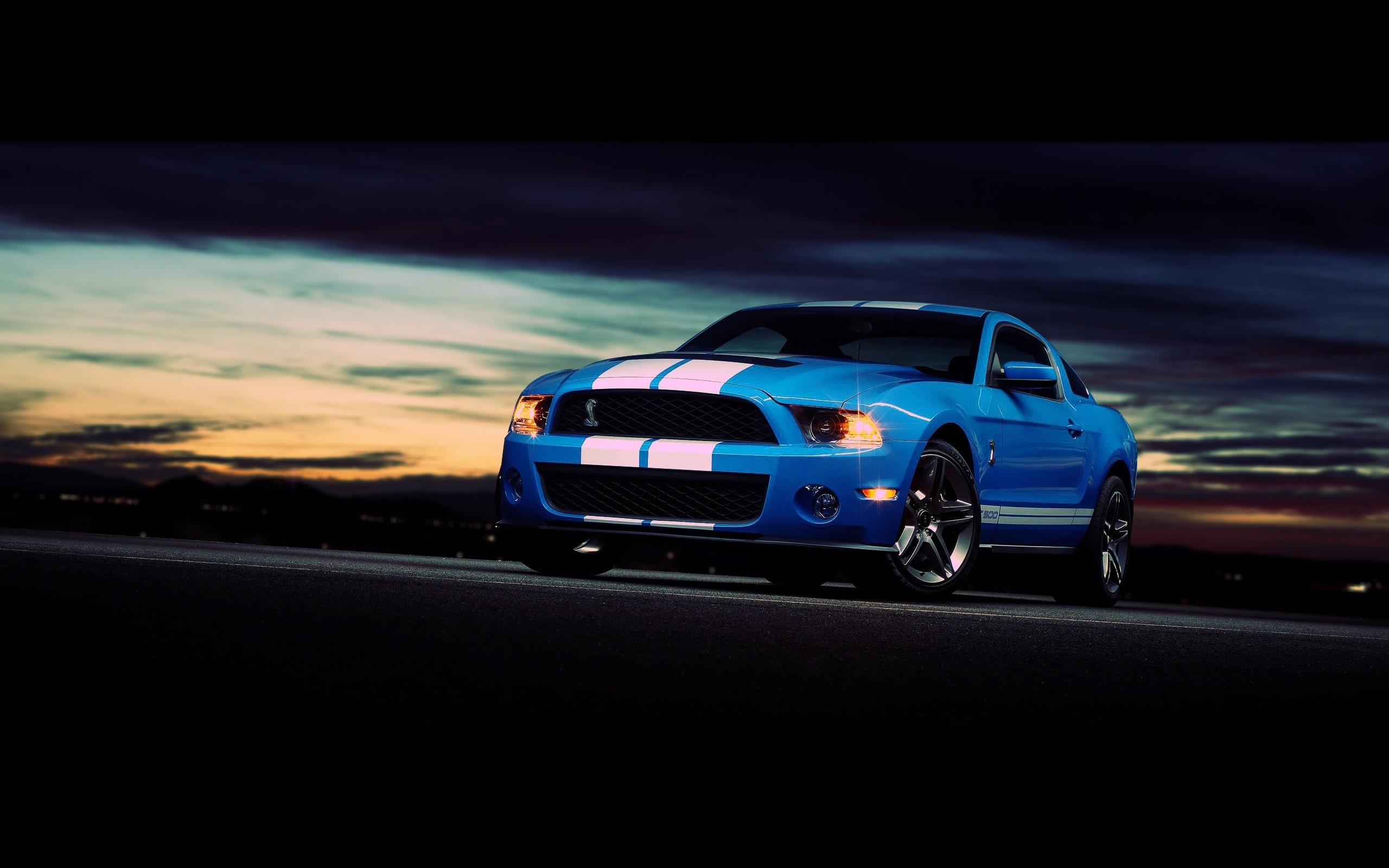 Ford Mustang Shelby GT500 Computer Wallpapers Desktop 2560x1600