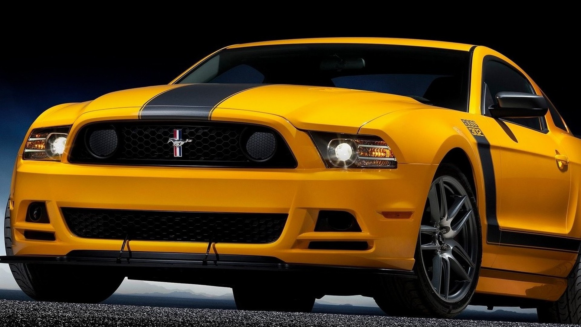 ford mustang boss 302 front angle speed 2 1920x1440 wallpaper Car 1920x1080