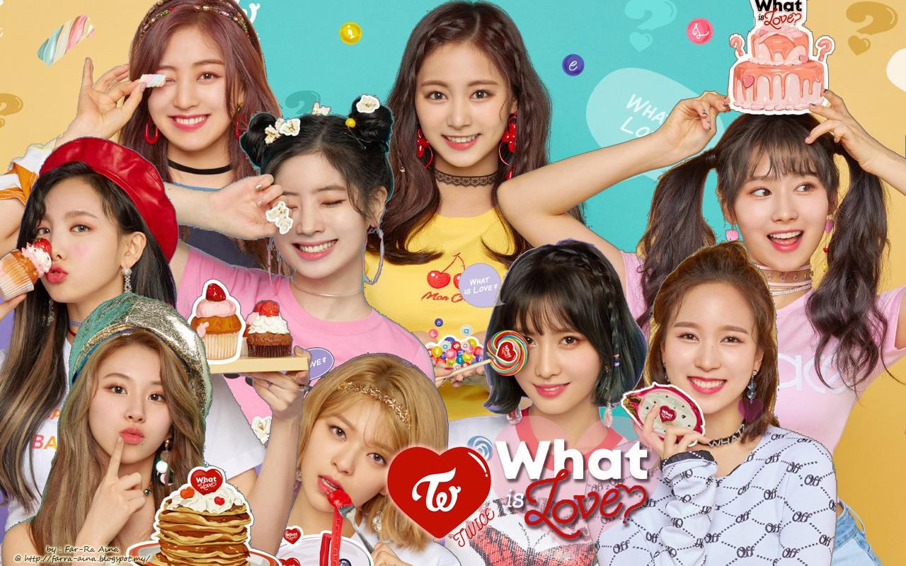 k pop lover ^^ TWICE   What Is Love WALLPAPER 1280x800