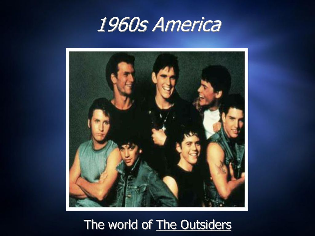 The World Of The Outsiders   Outsider Movie Wallpaper 1024x768