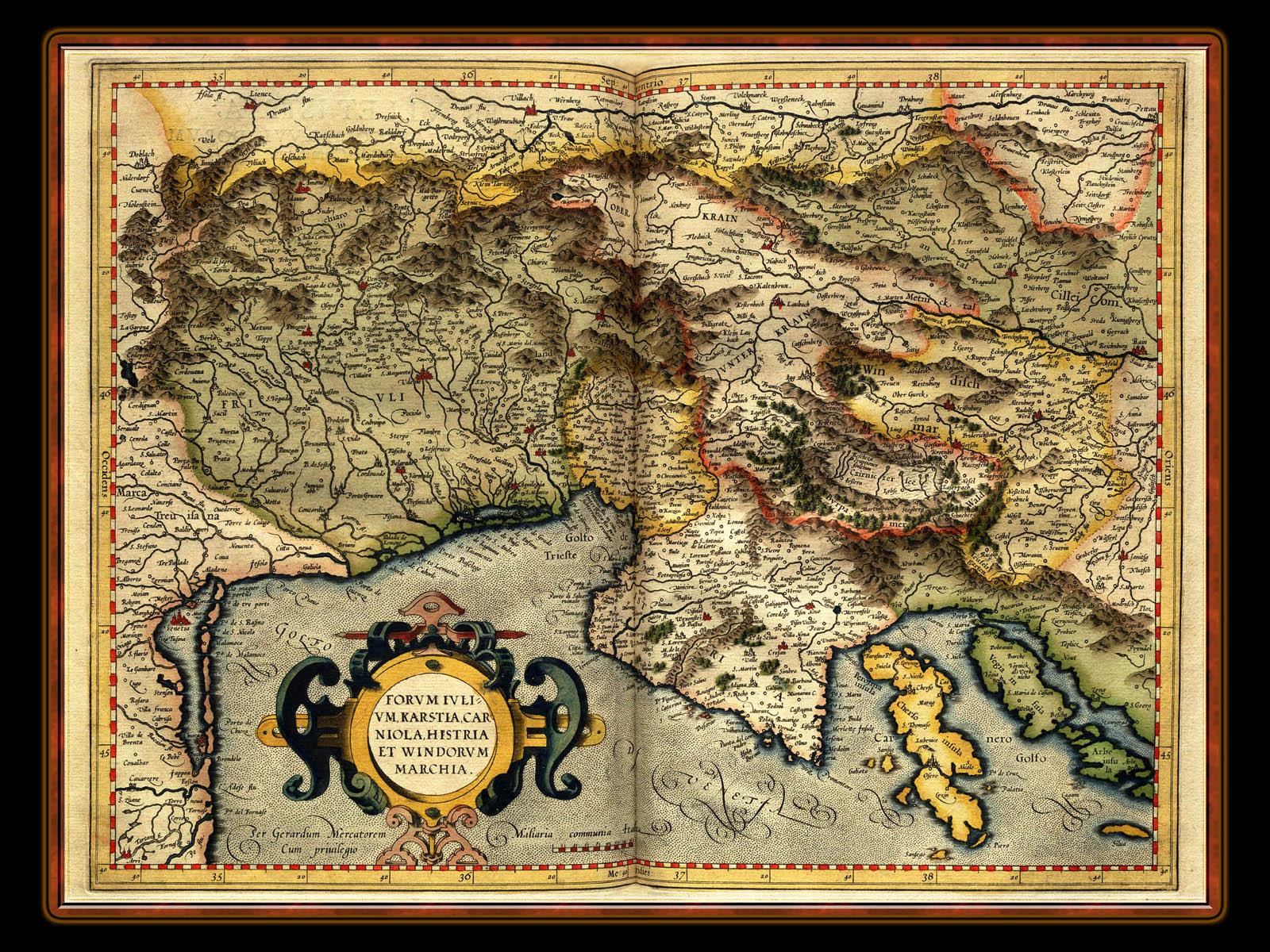 Wallpaper Maza antique map wallpaper 1600x1200
