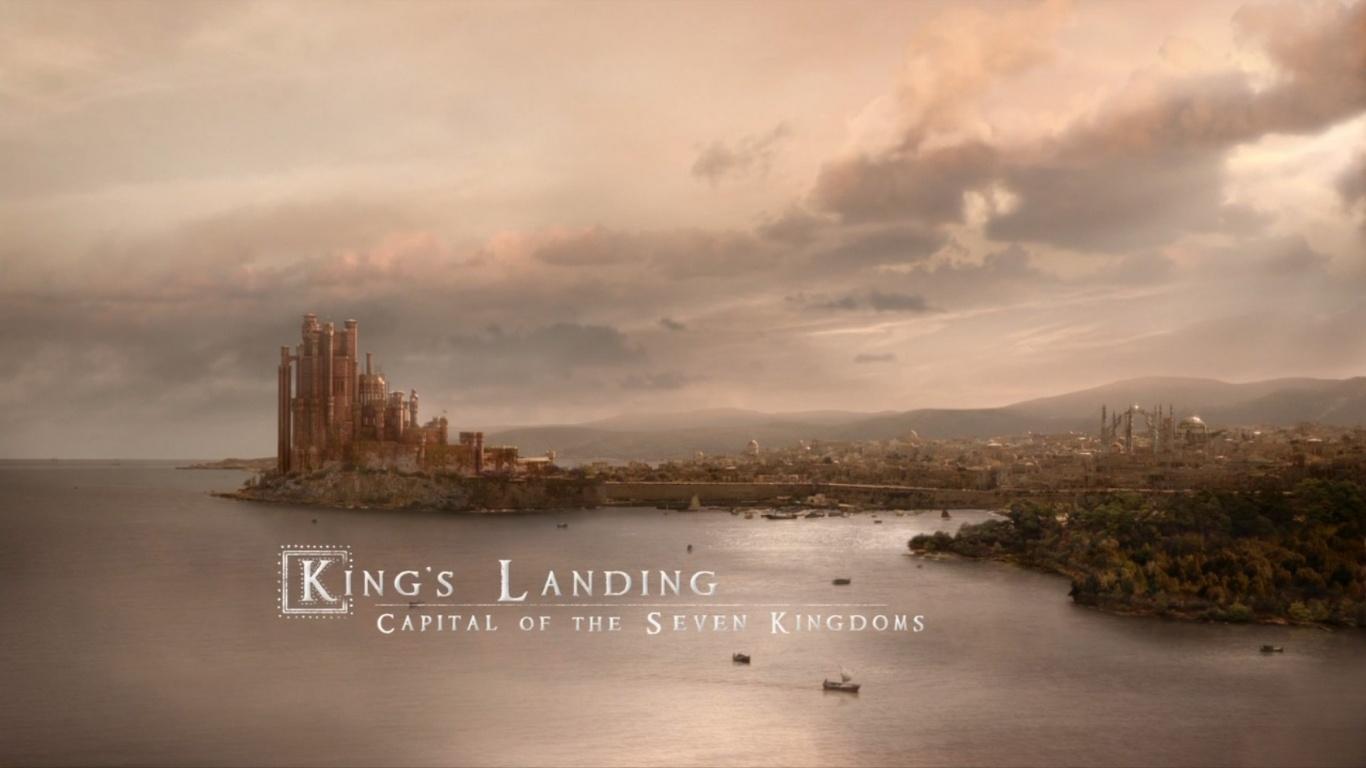 1366x768 Game of thrones kings landing desktop PC and Mac wallpaper 1366x768