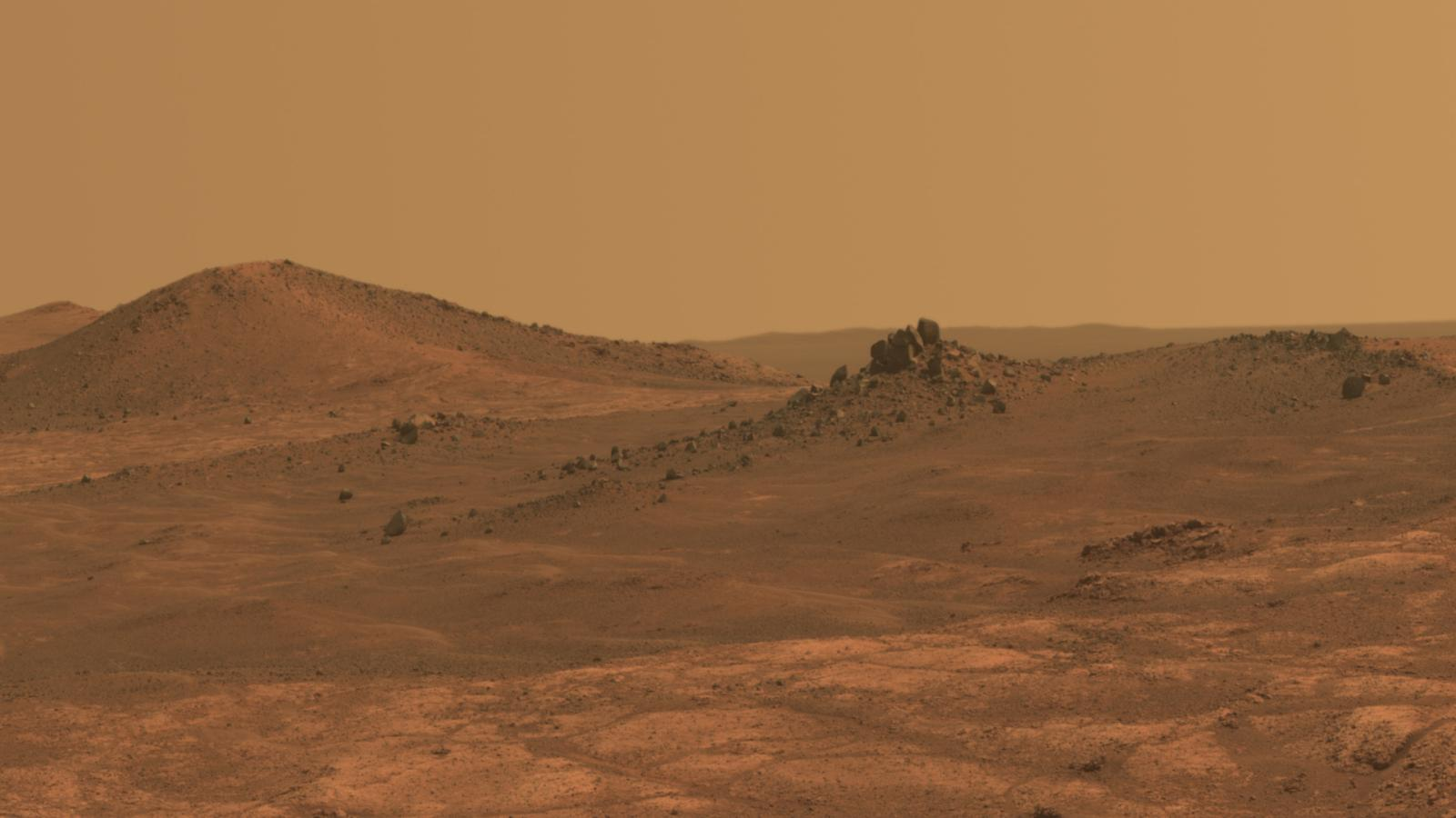 NASAs Mars rover Opportunity remains trapped in a planet 1600x900