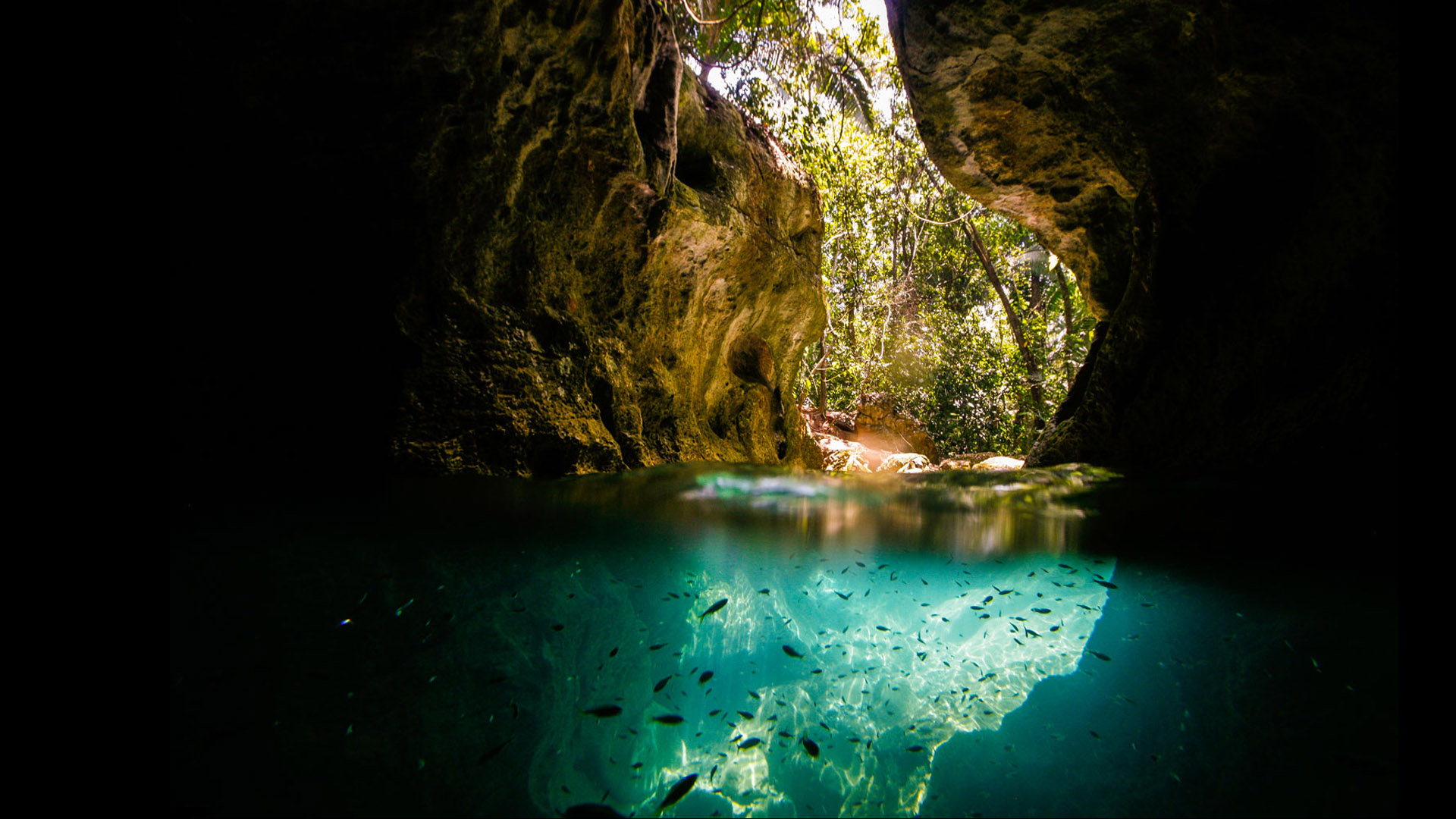 Cave of the Crystal Sepulchre in Belize [1920x1080] iimgurcom 1920x1080