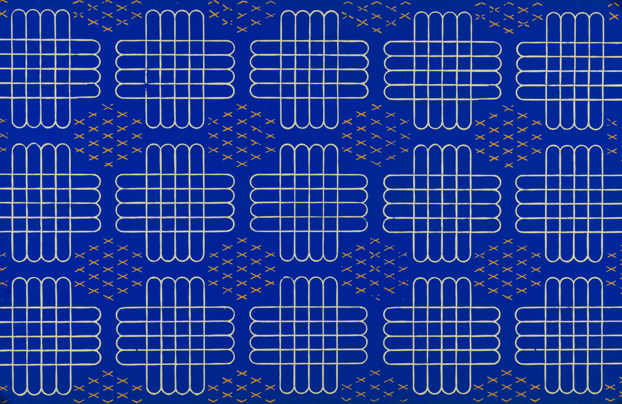 Free Download 1938 39 Grid Cross Blue White Yellow Wallpaper