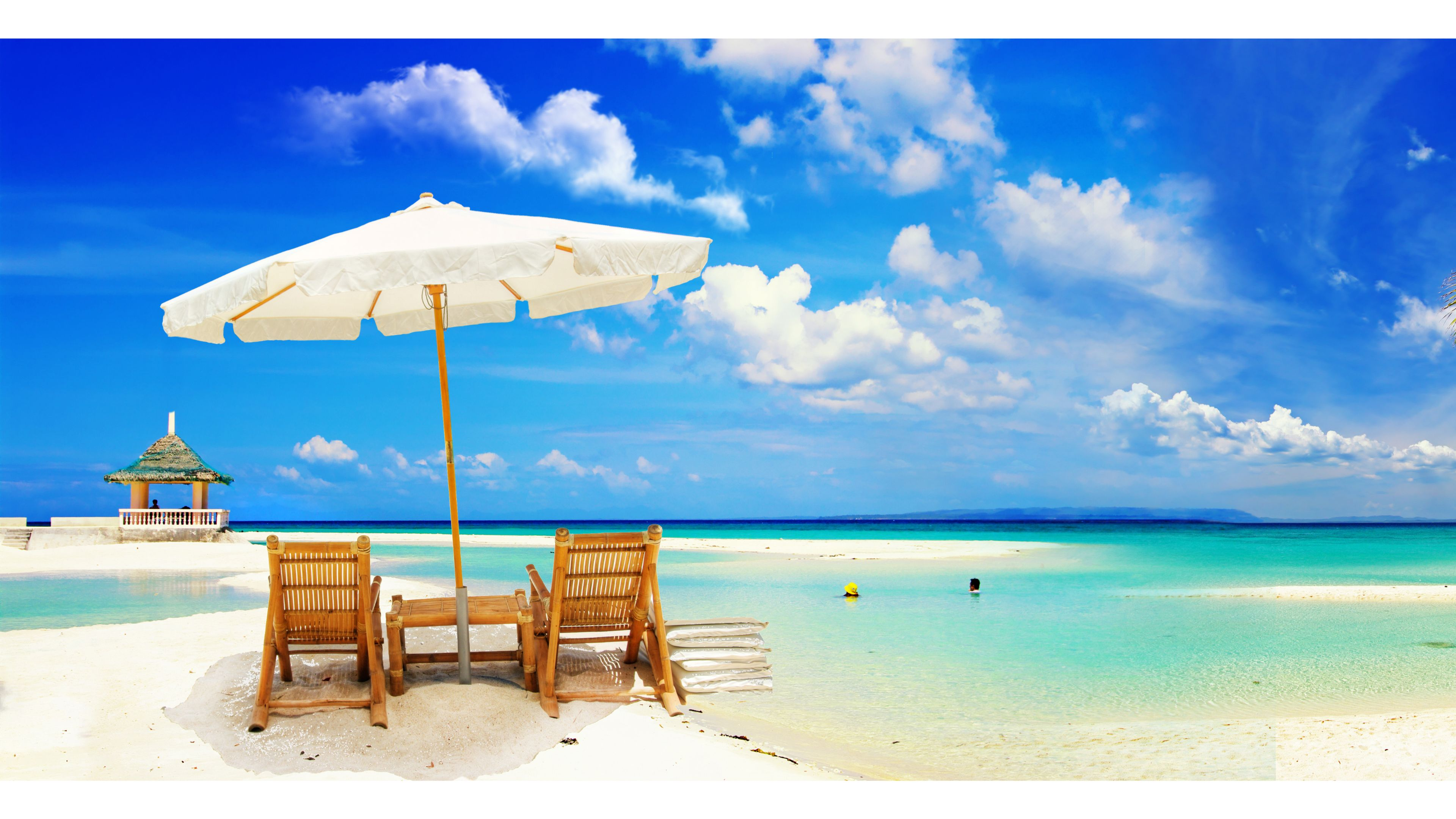 Download Romantic Wedding Beach 4K Wallpaper 4K Wallpaper ...