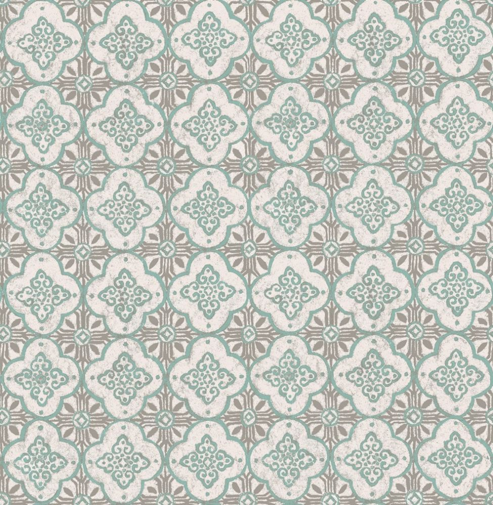 Gray Moroccan Wallpaper Wallpapersafari