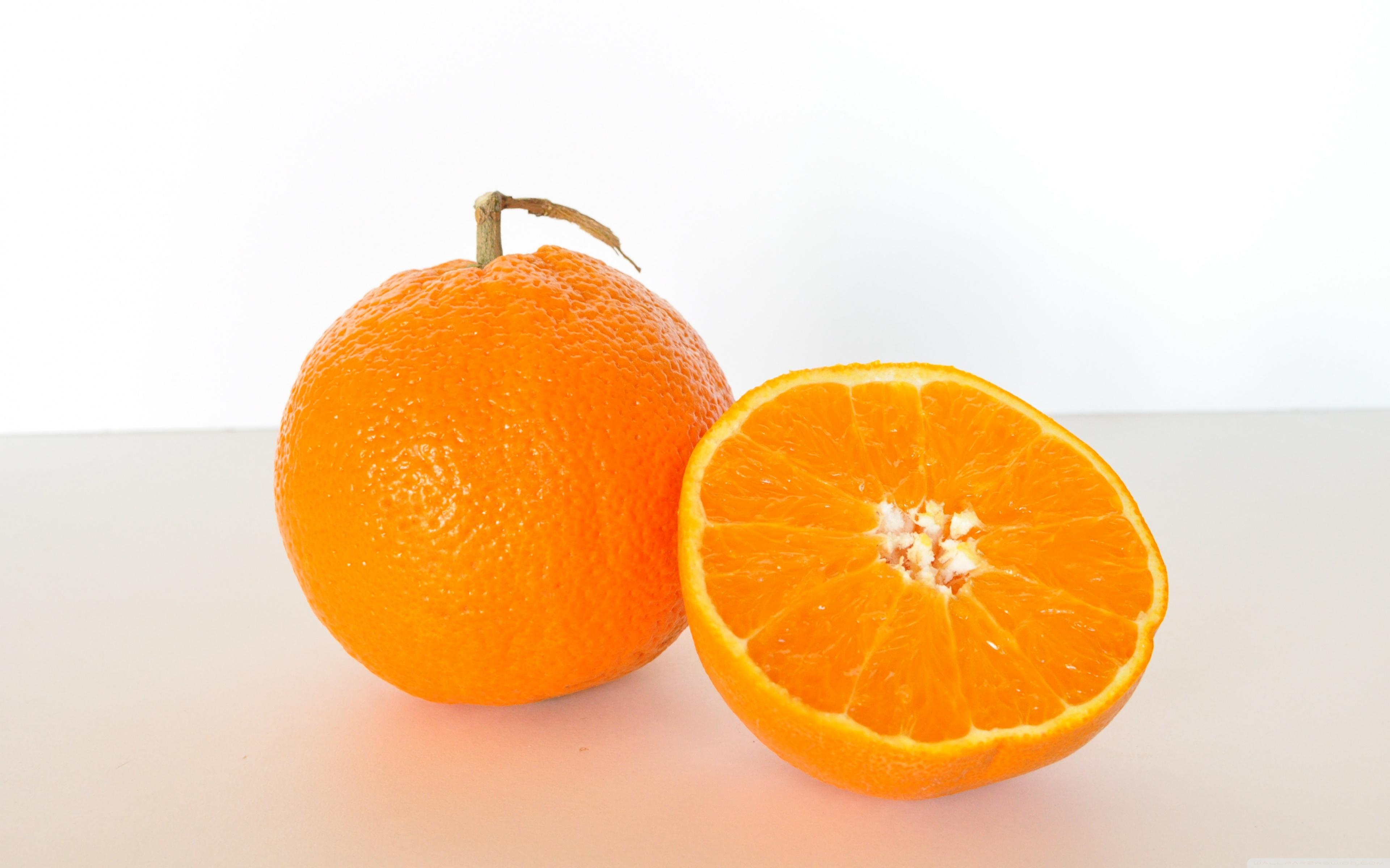 Orange Fruit 4K HD Desktop Wallpaper for 4K Ultra HD TV Wide 3840x2400