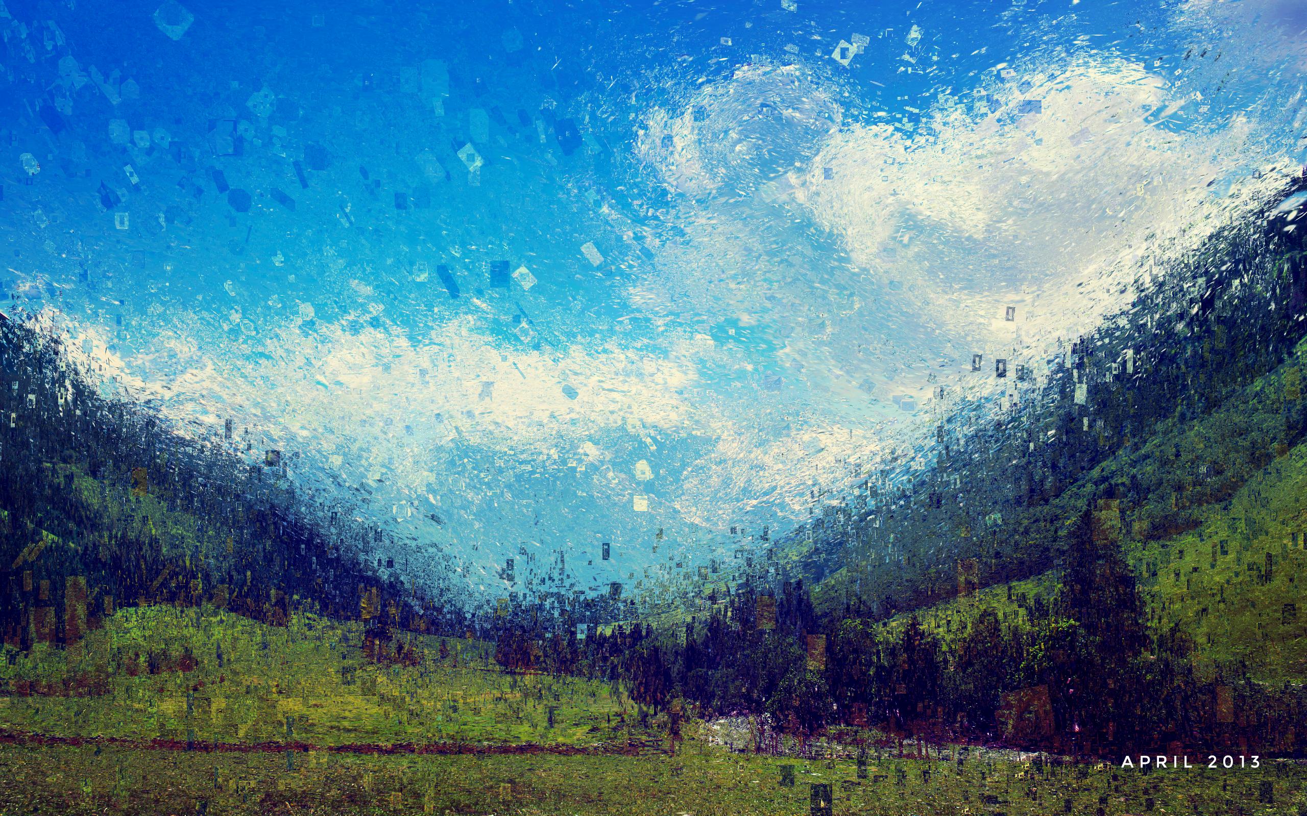 April Wallpaper by endosage 2560x1600