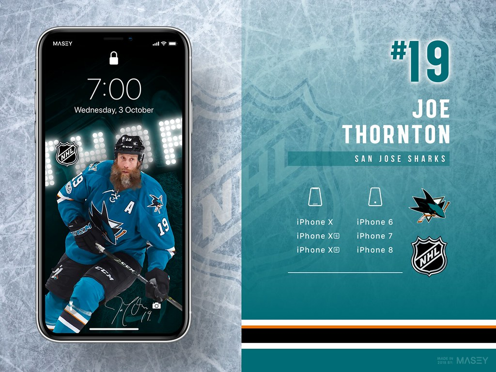 19 Joe Thornton San Jose Sharks iPhone Wallpapers Flickr 1024x767